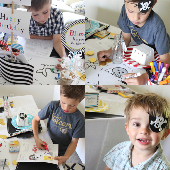 Pirate Birthday Party DIY Printable by Tonality Designs