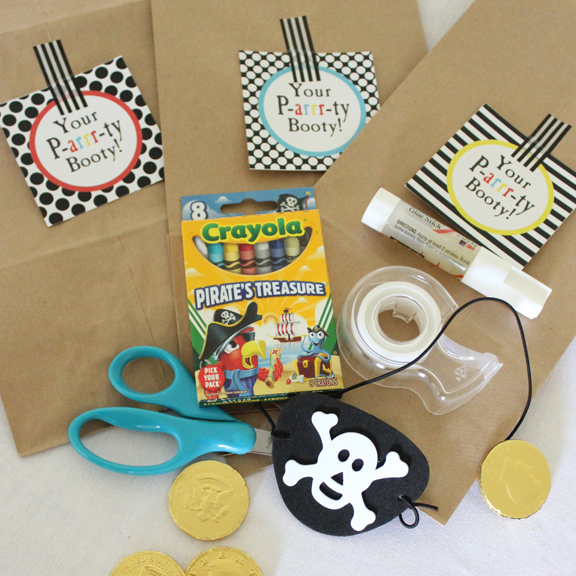 Pirate Birthday Party Printables by Tonality Designs