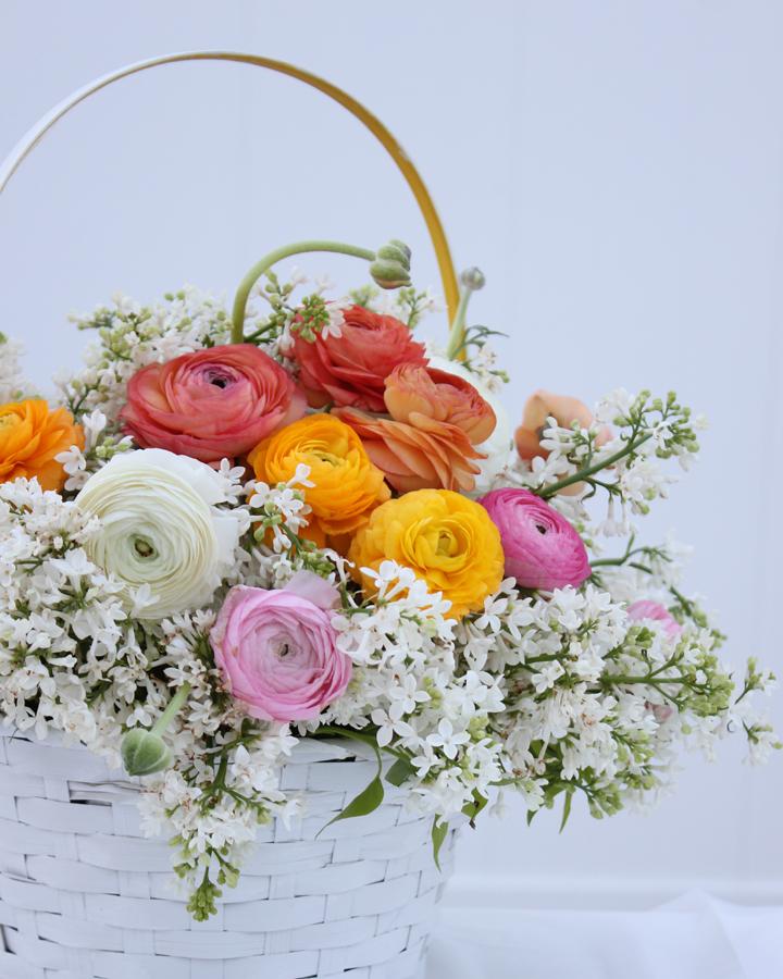 DIY Blooming Easter Basket Tutorial