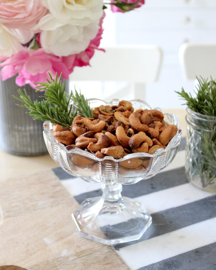 Rosemary Cashew Homemade Nuts