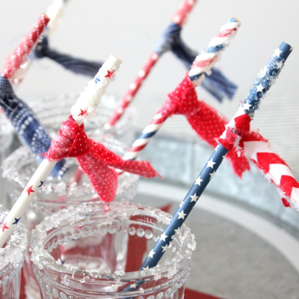 DIY Sugar Party Straws