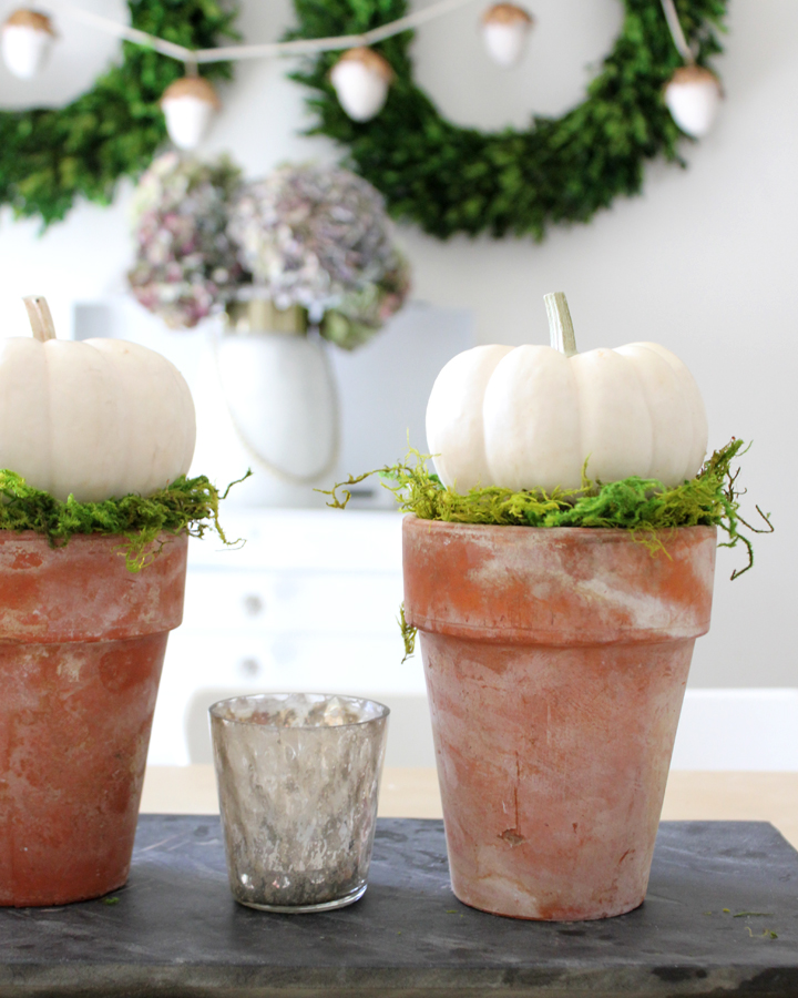 DIY Pumpkin Topiary Tutorial: Easy Fall Decor