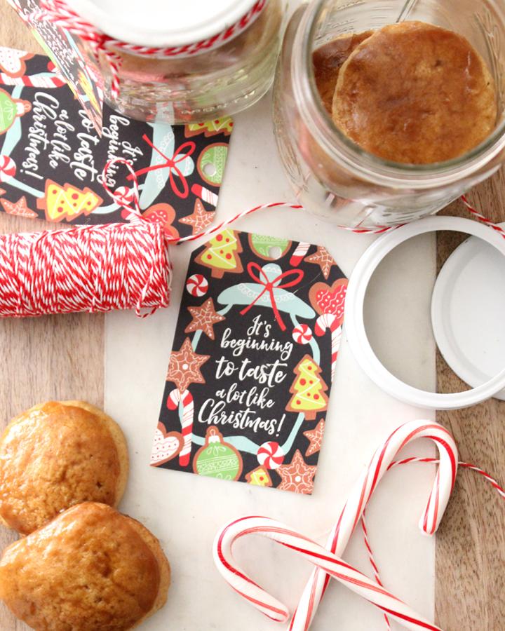 Free Christmas Baking Gift Tag: Print-it-Yourself Printable Download