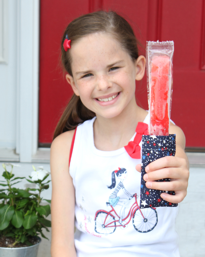 DIY Popsicle Pouches: Ice Pop Covers Perfect for 4th of July