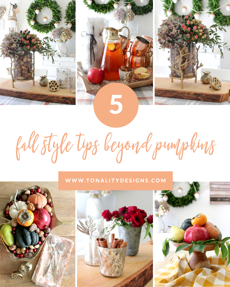 5 Fall Style Tips Beyond Pumpkins