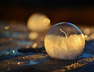 ledas burbuluose