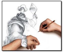piešianti_ranka