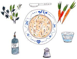 Carrot spread