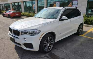 BMW X5 2015 M Pack – 360 Cam – Gps – Pano Sunroof – Leather – Clean Carproof