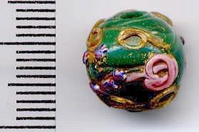 緑の丸玉ファンシー