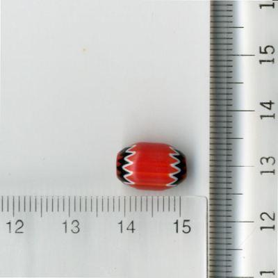 シェブロン玉 赤シェブロン玉5層小