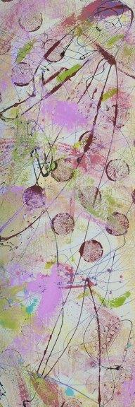 """Cassandra Tondro abstract painting """"Harmony"""""""