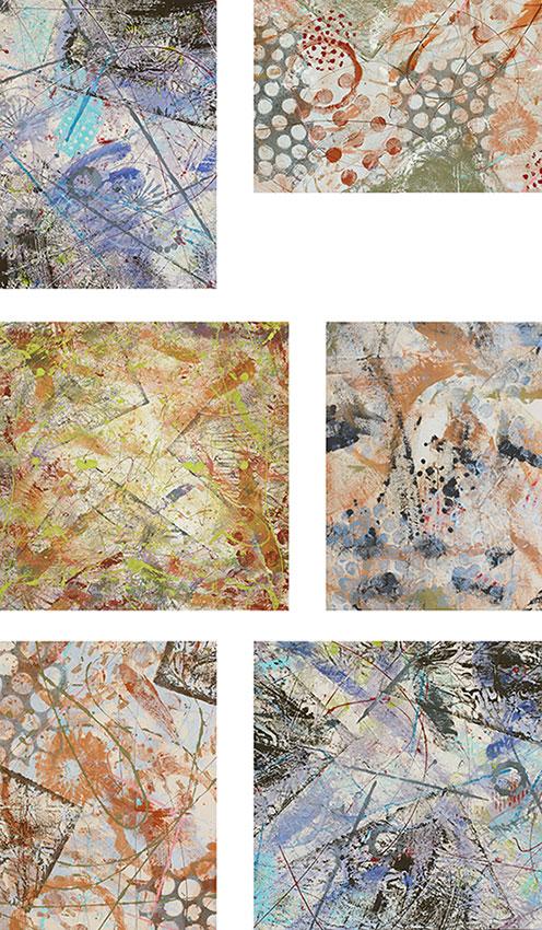"""Cassandra Tondro """"Chaos and Comfort"""" art"""