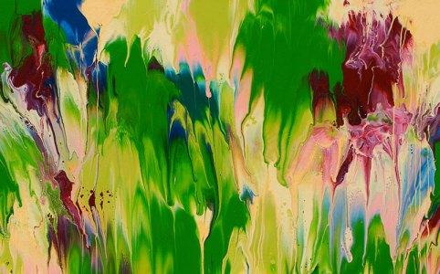 """Cassandra Tondro, """"Meltdown"""", abstract painting"""