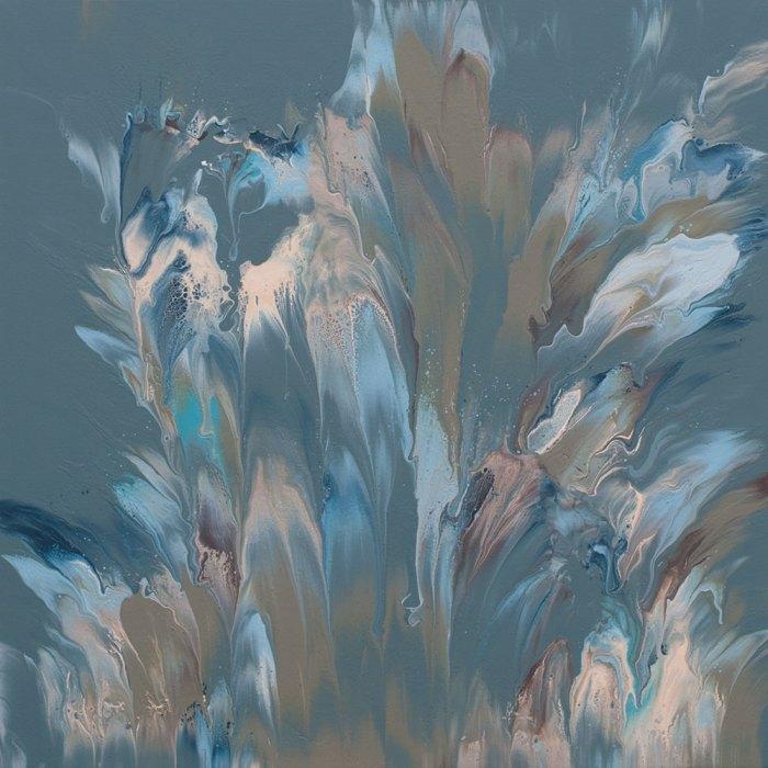 "Cassandra Tondro, ""Serendipity 1,"" abstract art"