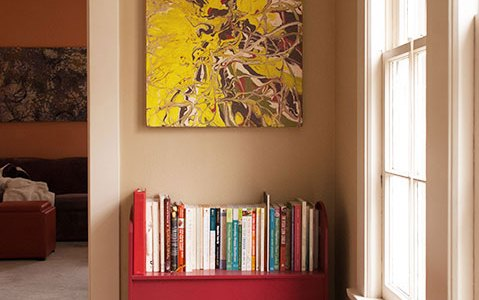 Cassandra Tondro art home