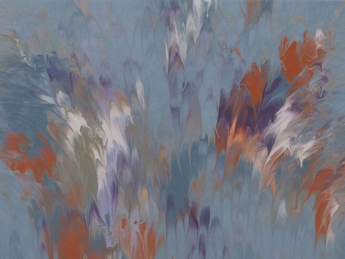 "Cassandra Tondro, ""Emerging Spirit,"" abstract art"