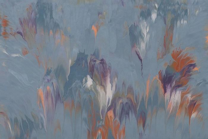 """Cassandra Tondro, """"Mountain Mist,"""" original art"""