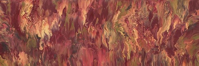 "Cassandra Tondro, ""Alternate Universe,"" abstract painting"