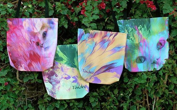 Cassandra Tondro tote bags
