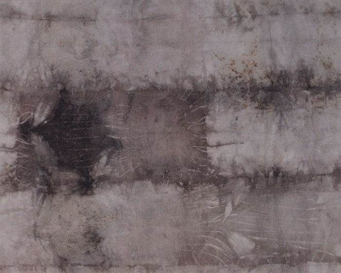 "Cassandra Tondro, ""Exploring Grays,"" natural dye art"