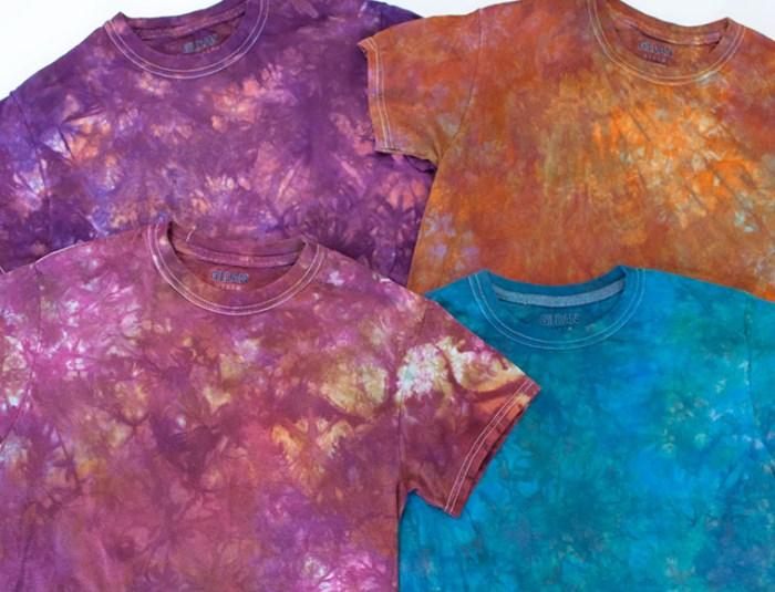 Cassandra Tondro dyed shirts