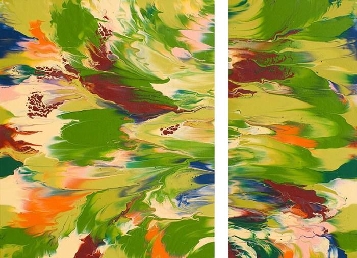 "Cassandra Tondro, ""Spring Break,"" abstract painting"