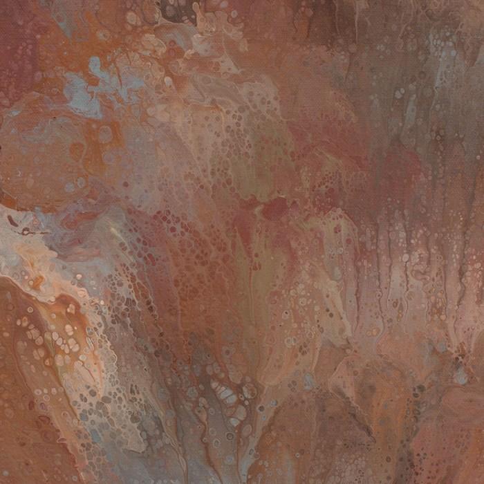 """Cassandra Tondro, """"Healing Earth,"""" abstract art"""