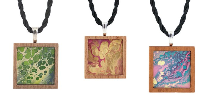 Cassandra Tondro art Necklaces