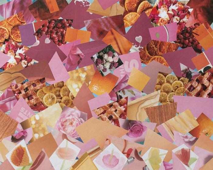 """Cassandra Tondro, """"Social Isolation,"""" collage art coronavirus"""