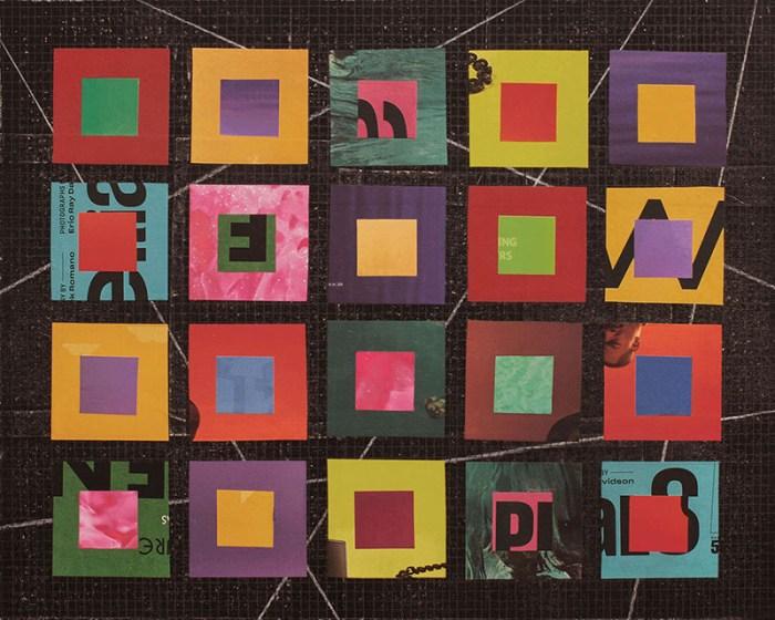 """Cassandra Tondro, """"Isolation,"""" coronavirus collage art"""