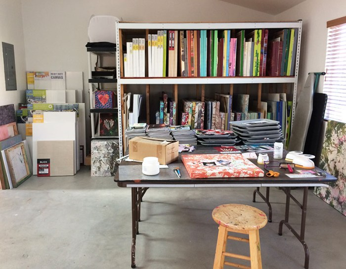 Cassandra Tondro art studio