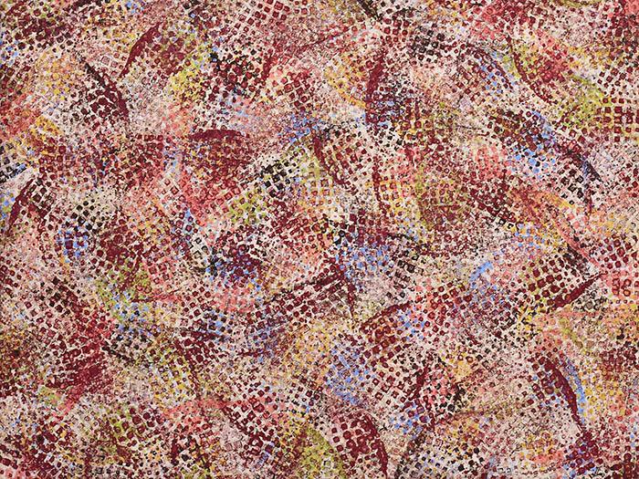 """Cassandra Tondro, """"America,"""" abstract art"""