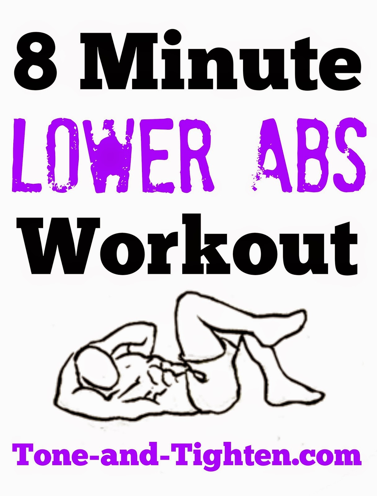 8 Minute Lower Abs Workout Video Workout