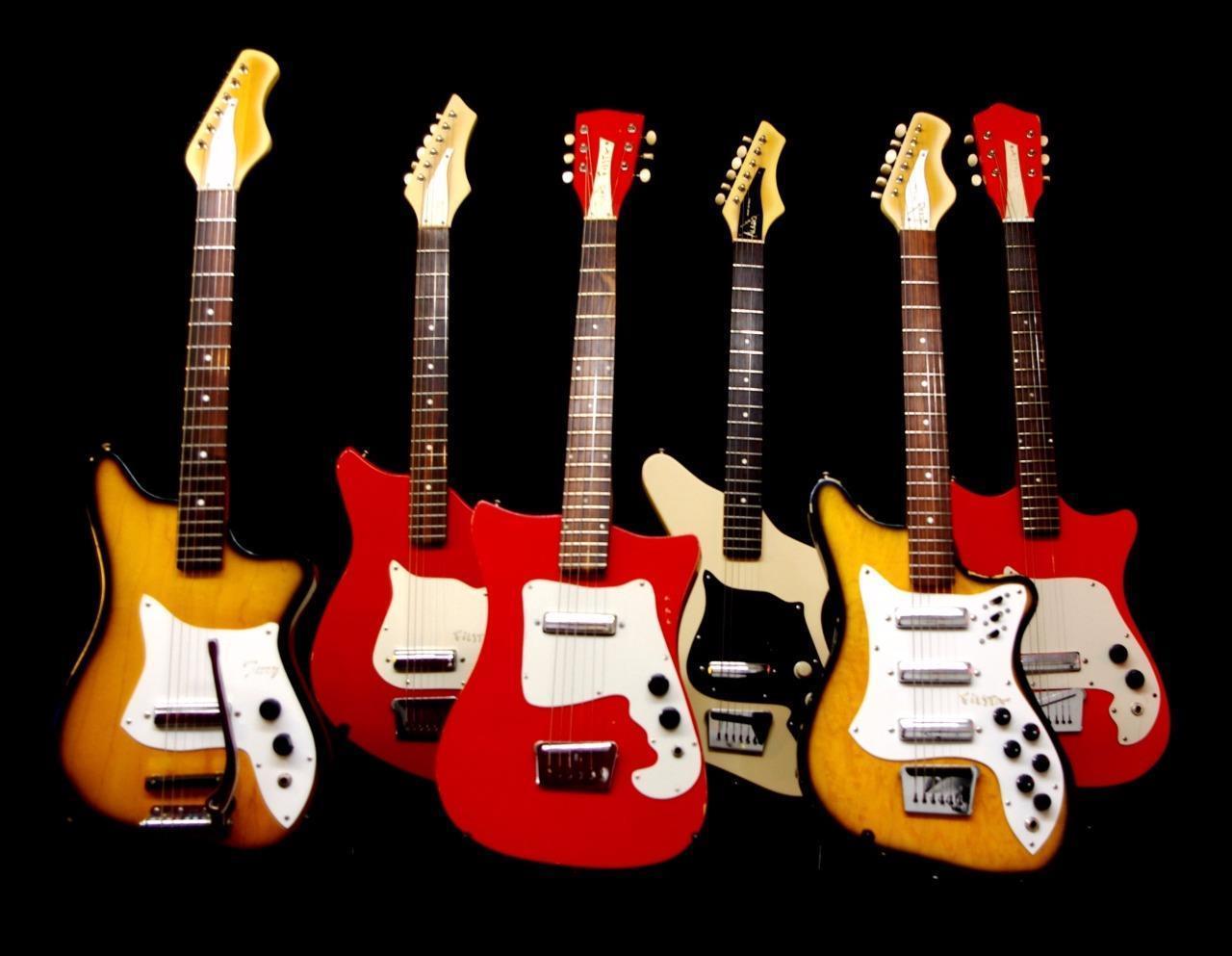 Alamo Vintage Electric Guitar Collection, Fiesta, Fury