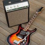 Silvertone 1445 Guitar and Silvertone 1421 Amp