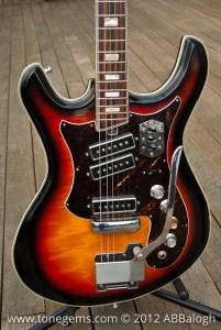 Silvertone 1445 Guitar Body