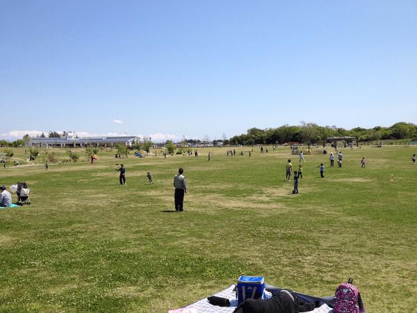 引地川公園ゆとりの森 芝生広場