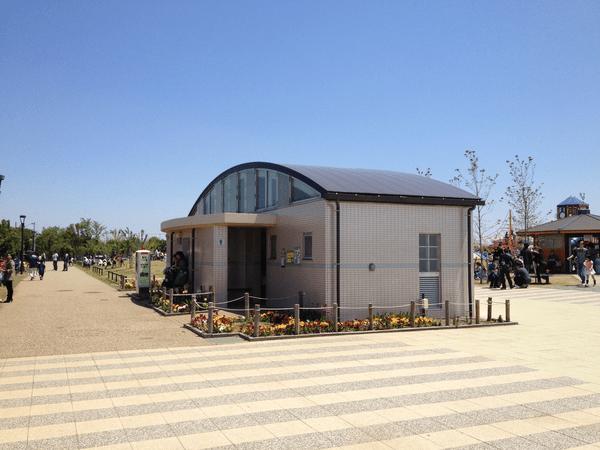 引地川公園ゆとりの森 わんぱく広場 トイレ