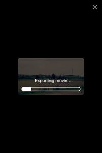「RoadMovies」Exporting Movies