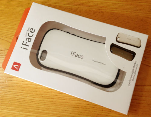 iFace(iPhone5用)バッケージ