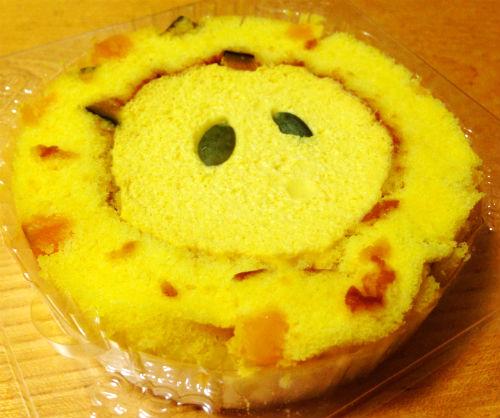 プレミアムかぼちゃ三昧ロールケーキ