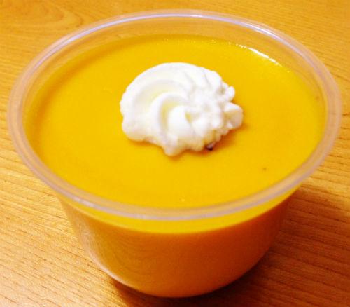 北海道産かぼちゃの濃厚プリン