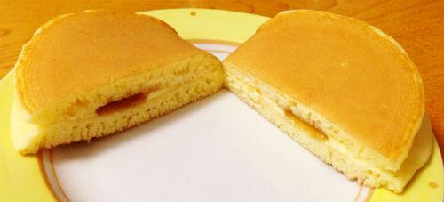 パンケーキ 断面