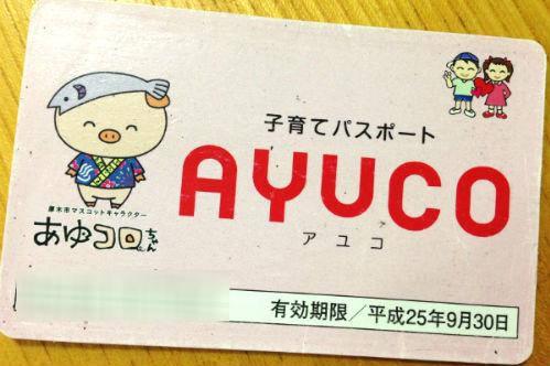 AYUCO カード