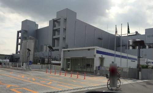 雪印メグミルク 海老名工場 入口