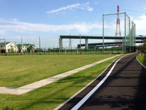 海老名中野公園 遊歩道