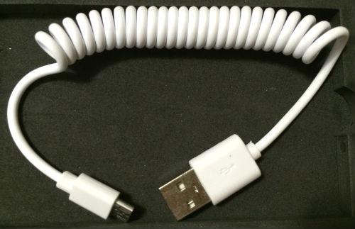 マイクロUSBケーブル Lumsing6000mAhモバイルバッテリー
