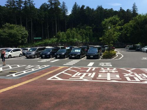 小田原こどもの森公園わんぱくらんど 第2駐車場 午後2時頃