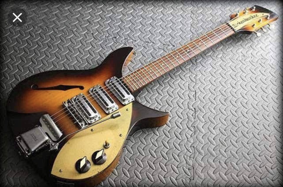 Rickenbacker 325 Custom Build Part 1.